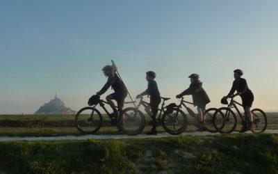 Camp de Pâques : Raid vélo Cherbourg – Le Mont St Michel